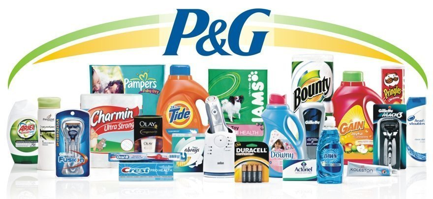 las marcas de P&G
