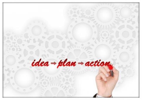 Ideas con planes de acción