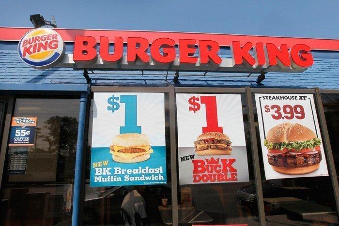 Burger King ofrece desayunos