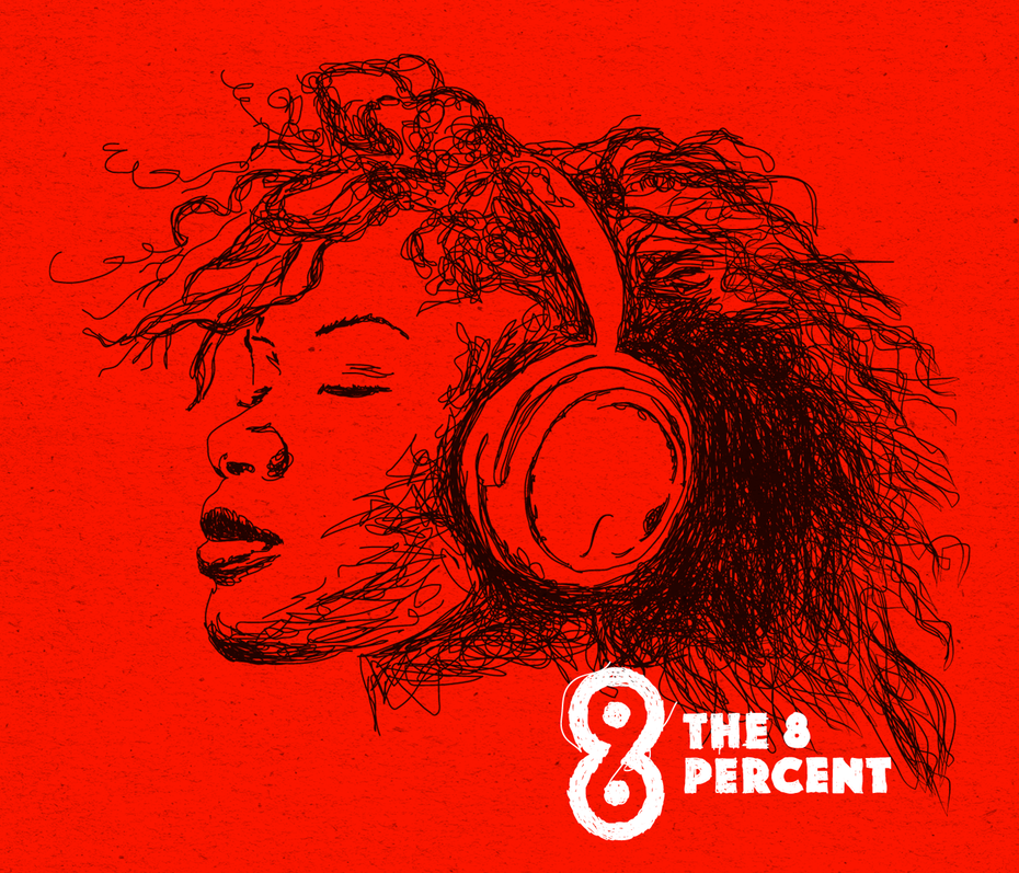 the 8 percent