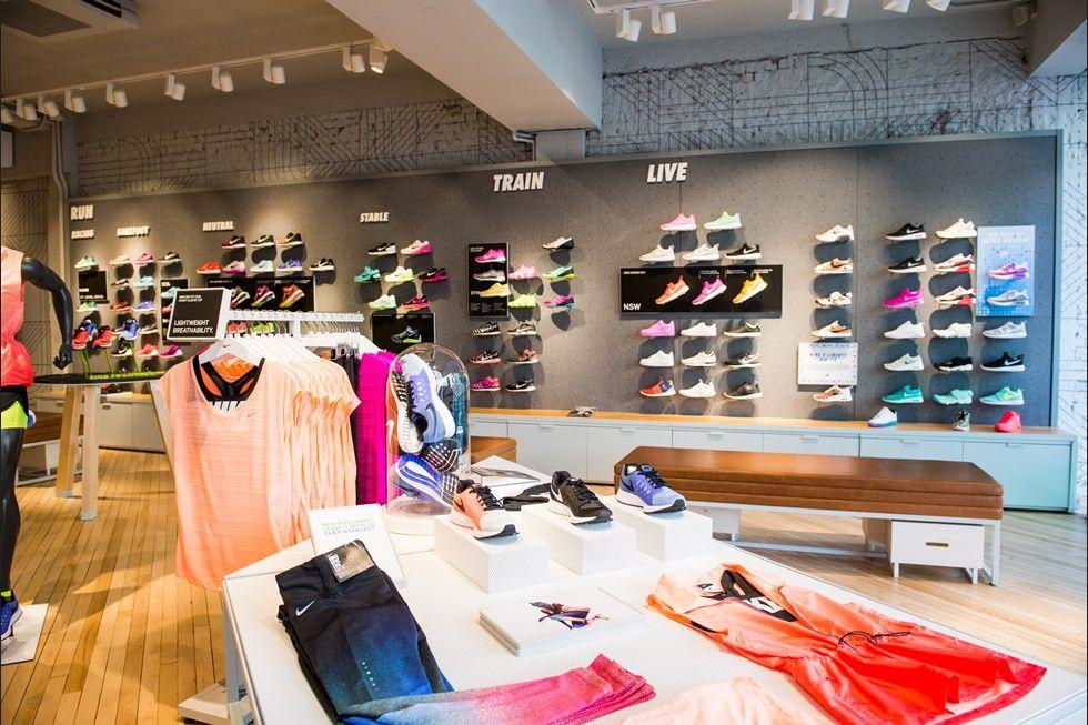 Tienda Nike en Londrés