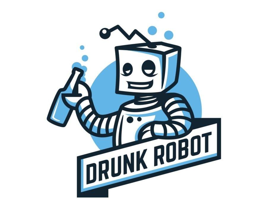 Drunk Logo