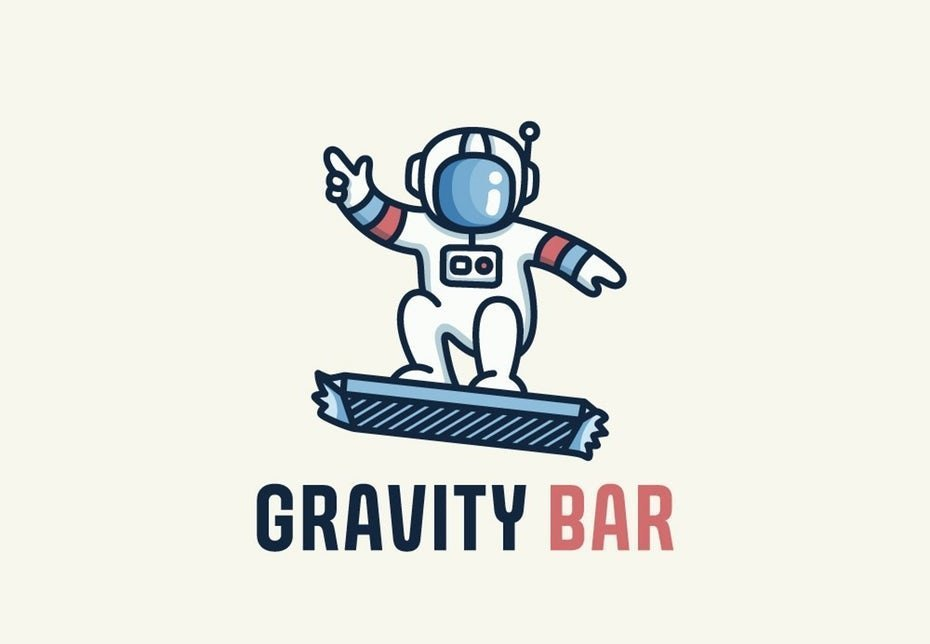 Gravity Bar Logotipo