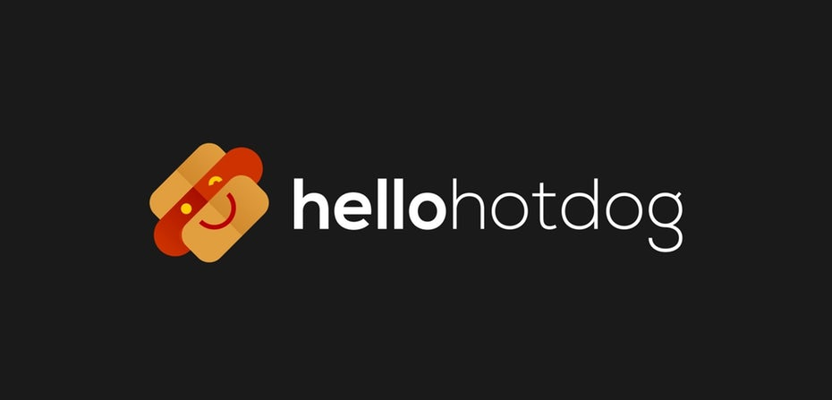 Hello Hot Dog Logotipo