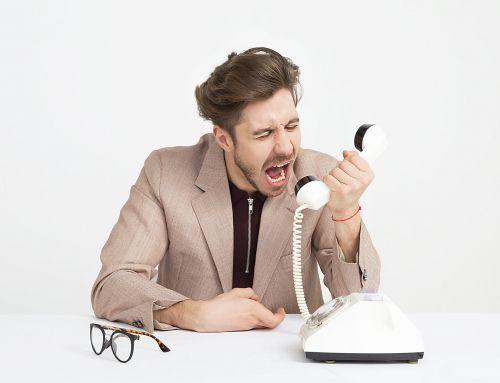 ¿Cómo actuar ante un cliente enojado?